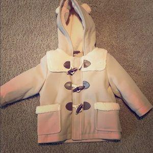 NWT Baby GAP Tan pea coat